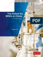 Future for MNC in China 201206