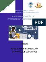 Curso 10 Formulación y Evaluación de Proyectos Educativos