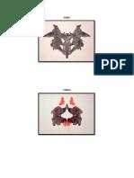 Rorschach Test - Psychodiagnostic Plates