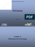 Airframes Chapter 3 Manufacturing Technology