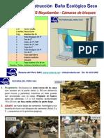 BAÑOS Manual Construccion Baño Ecologico Seco