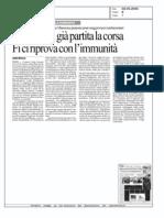 Forza Italia ci riprova con l'immunità