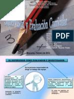Supervision y Evaluacion Curricular