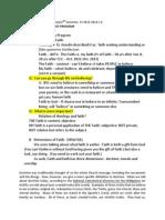 Handout W1 - Theo & Faith, SY 2013-14, 2 C-E