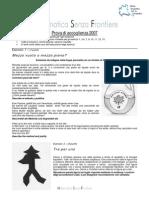 2007 Matematica senza frontiere