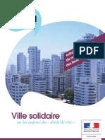 Brochure Ville Solidaire