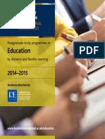 Institute of Education Prospectus
