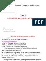 5.IA 64 and Itanium Processors