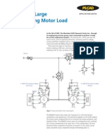 Application Note - Flicker in a Large Reciprocating Motor Load