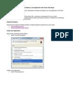 Java JDeveloper