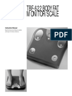 Body Fat Scale (TBF622) Manual