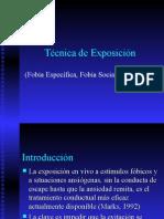 TECNICAS DE EXPOSICION