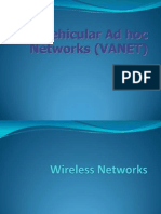 12-Vehicular Ad Hoc Networks (VANET)