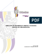 Manual de Organización Ddu