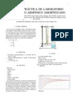 Movimiento Armónico Amortiguado Lab