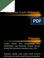 Pengenalan Logika Matematika