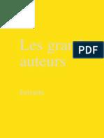 13489248 Les Grands Auteurs