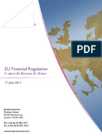 Business for Britain report on EU Financial Regulation