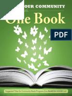 One Book, One Community Catalog 2014
