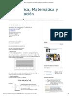 Análisis de Regresión Cuadrática _ Estadística, Matemática y Computación
