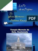 Mormonismo Fe de Mi Projimo Guatemala