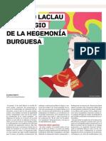 Ernesto Laclau y El Elogio de La Ideología Burguesa