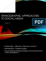 Ethnographic Approaches to Social Media 2013-2014. College 13