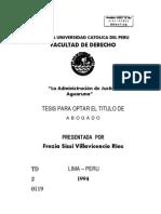 Tesis Villavicencio