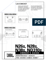 N26II Speaker Manual