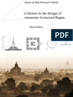 Influential factors in the design of religious monuments in ancient Bagan