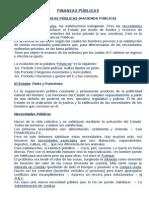Resumen Finanzas Públicas y Derecho Tributario - Villegas