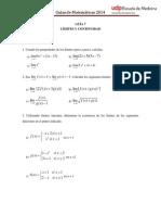 Guía7 MAT MED Límites y Continuidad 1 2014