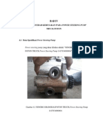 Bab IV Analisa Kerusakan Power Steering Pump