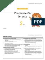 Programacion Aula 2 Años