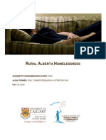 Alberta Rural Homelessness Report