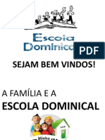 A FAMILIA E A EBD