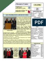 Cildrc Fall Newsletter