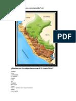 Mapa Regiones Del Perú