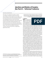 Relations of Production and Modes of Surplus Extraction part 2 Industry