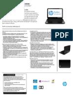 Manual - Pavilion Ultrabook™ 14-b060br