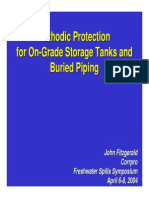 Cathodic Protection for on-Ground Storage Tanks and Buried Piping