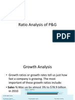 Ratio Analysis of P G PPT