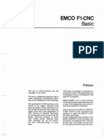 EMCO F1 CNC Mill Basic Programming