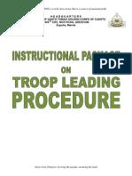 Troop Leading Procedure IP Final Word