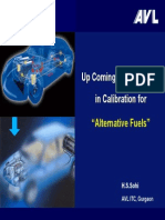 Up Coming Requirements in Calibration for Alternative Fuels