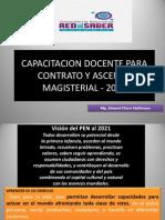 Capacitacion Docente Para Contrato y Ascenso Magisterial