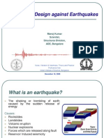 structural design against earthquakes