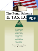 The Ponzi Scheme and Tax Loss