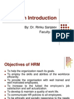 HRM- An Introduction Lec. 2