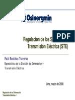Regulación Transmision GART
